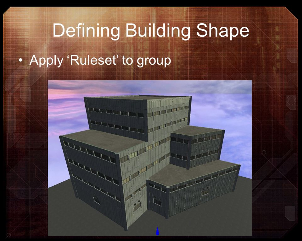 Defining Building Shape