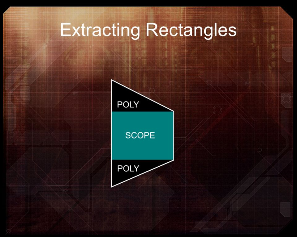 Extracting Rectangles