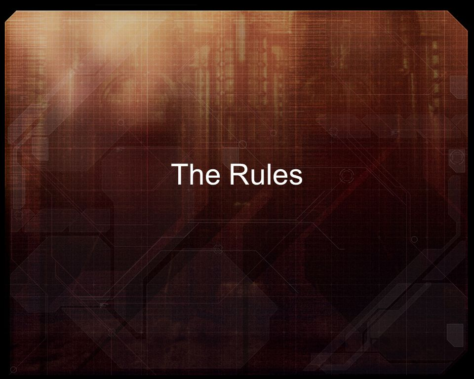 The Rules We are now going to briefly speak about the rules that we have added to the system so far