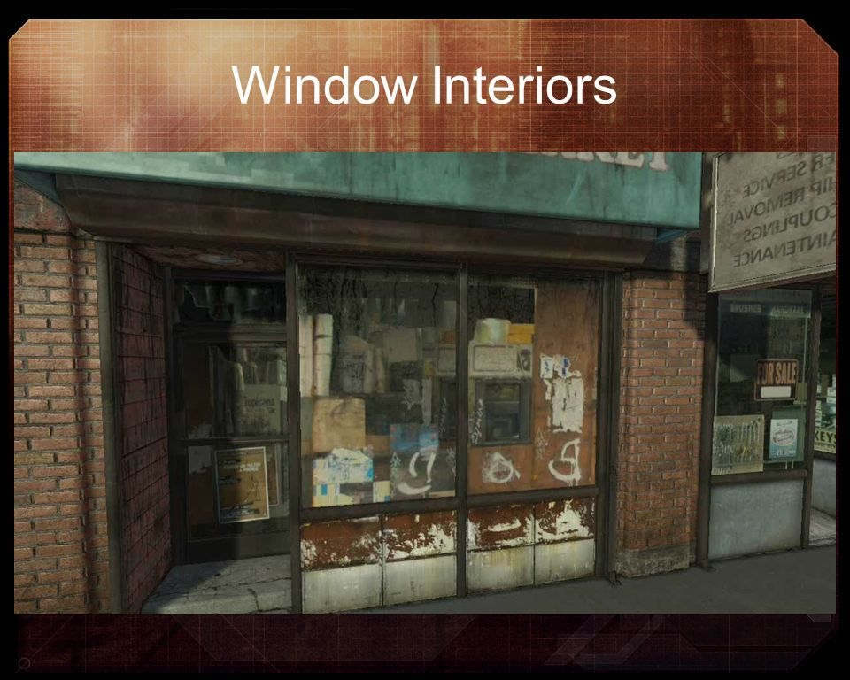 Window Interiors DOUBLE CLICK TO PLAY VIDEO