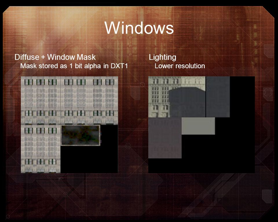 Windows Diffuse + Window Mask Lighting