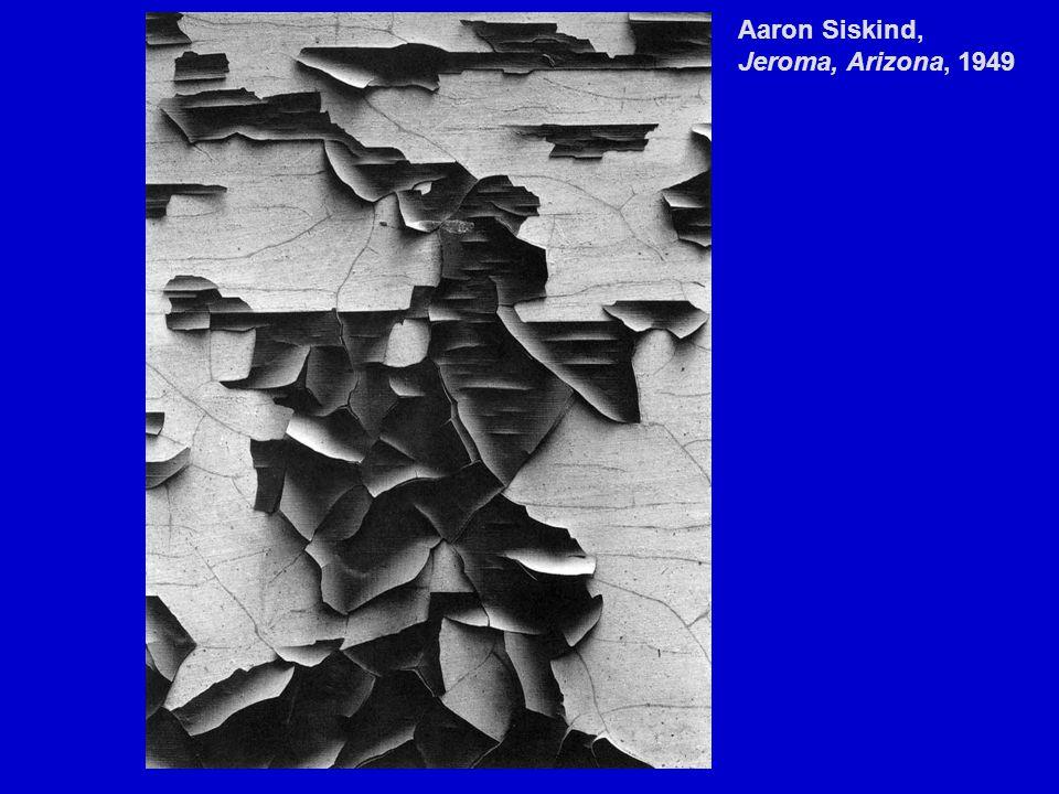 Aaron Siskind, Jeroma, Arizona, 1949