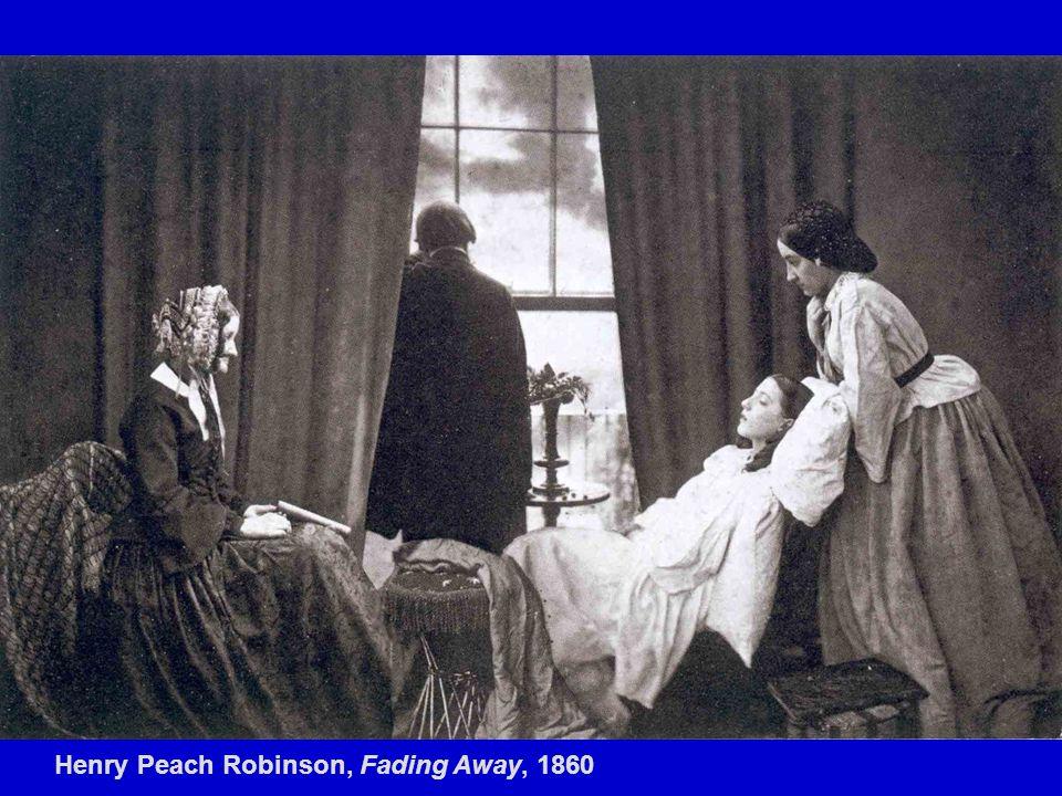 Henry Peach Robinson, Fading Away, 1860