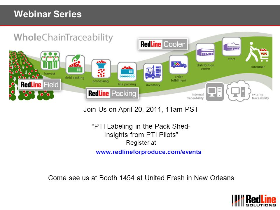 Webinar Series Join Us on April 20, 2011, 11am PST