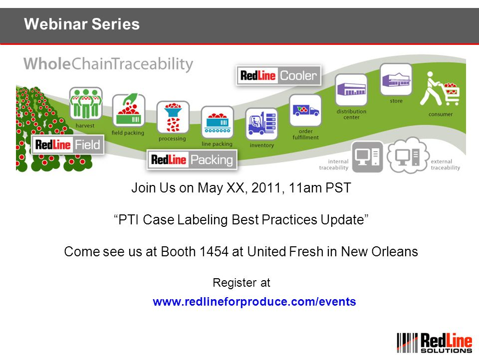 Webinar Series Join Us on May XX, 2011, 11am PST