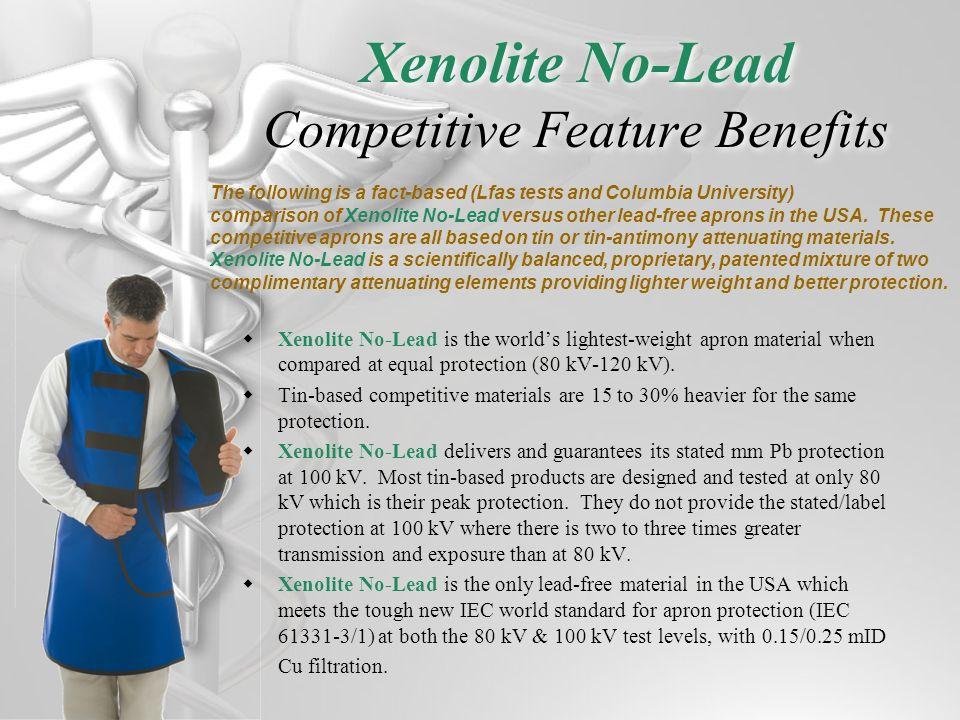 Xenolite No-Lead Competitive Feature Benefits