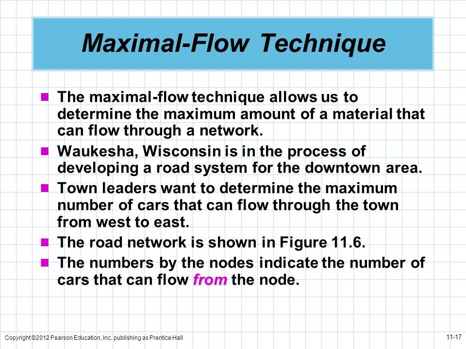 Maximal-Flow Technique