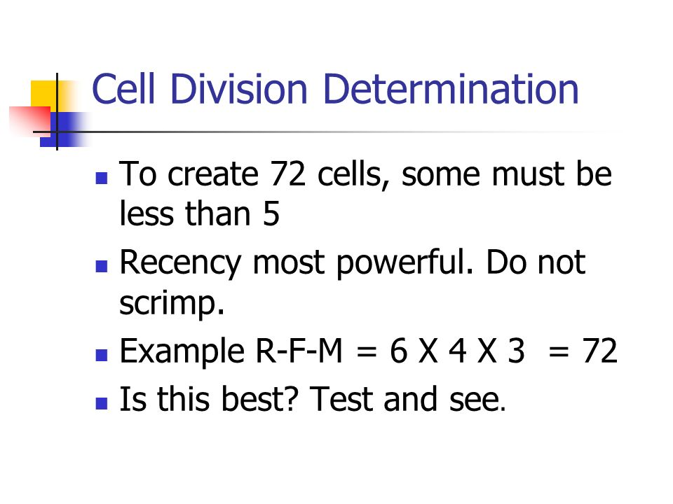 Cell Division Determination