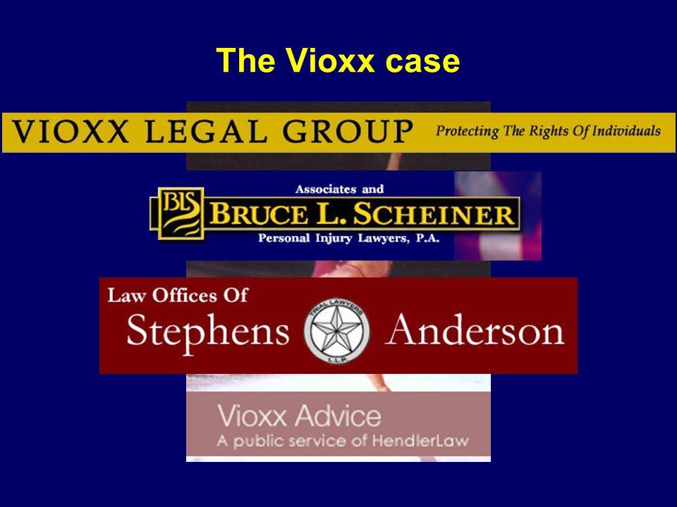 The Vioxx case Dorothy Hamill