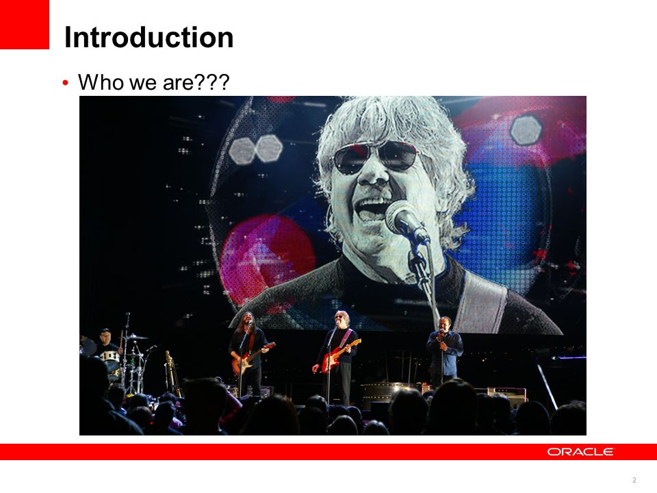 Introduction Who we are COMMENT: