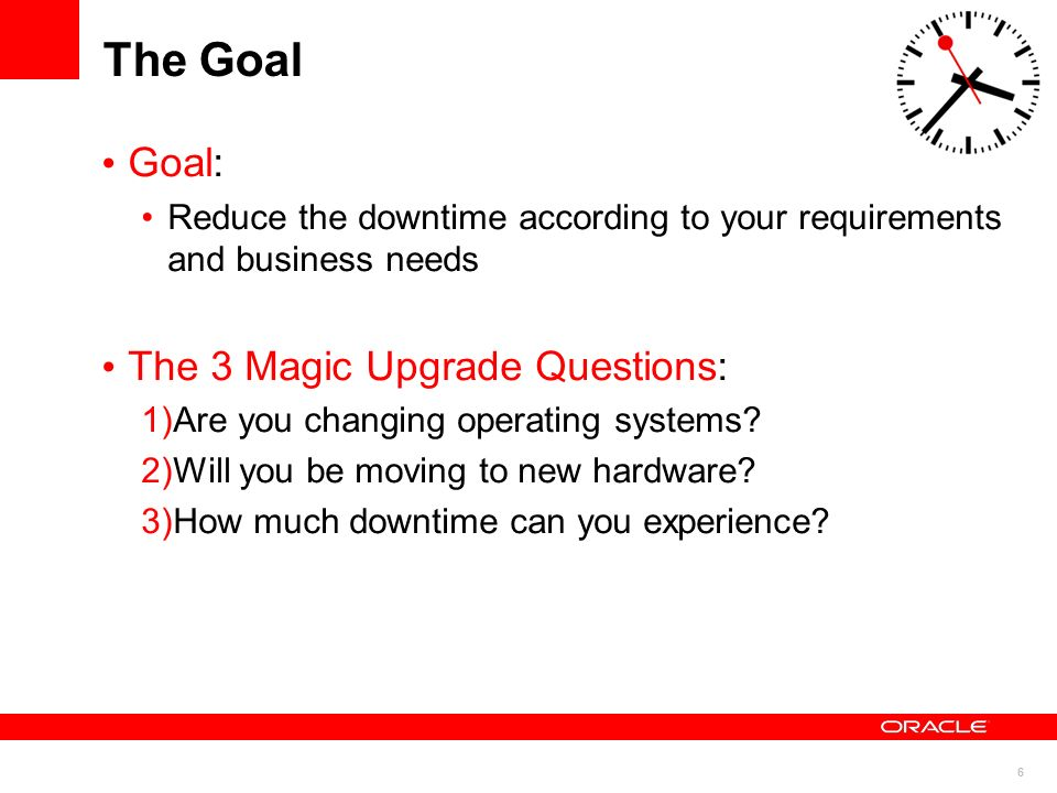 The Goal Goal: The 3 Magic Upgrade Questions: