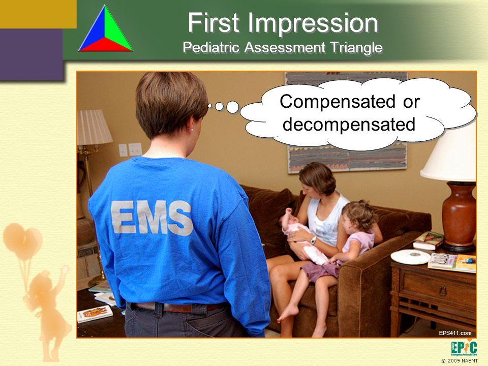 First Impression Pediatric Assessment Triangle