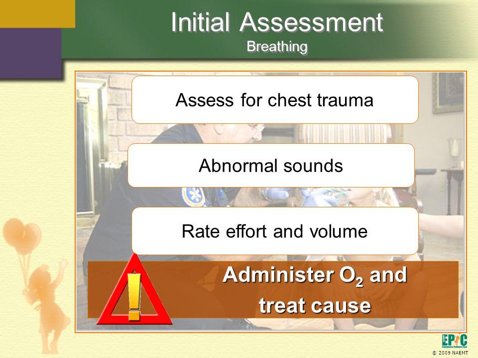 Initial Assessment Breathing