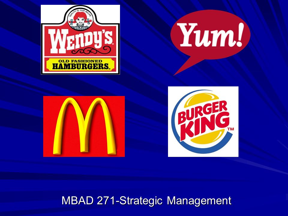 MBAD 271-Strategic Management