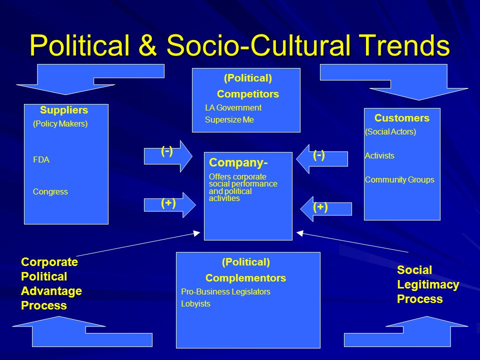 Political & Socio-Cultural Trends