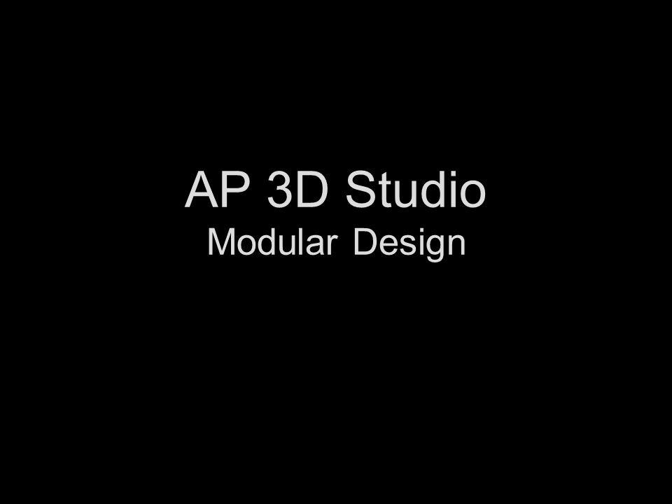AP 3D Studio Modular Design