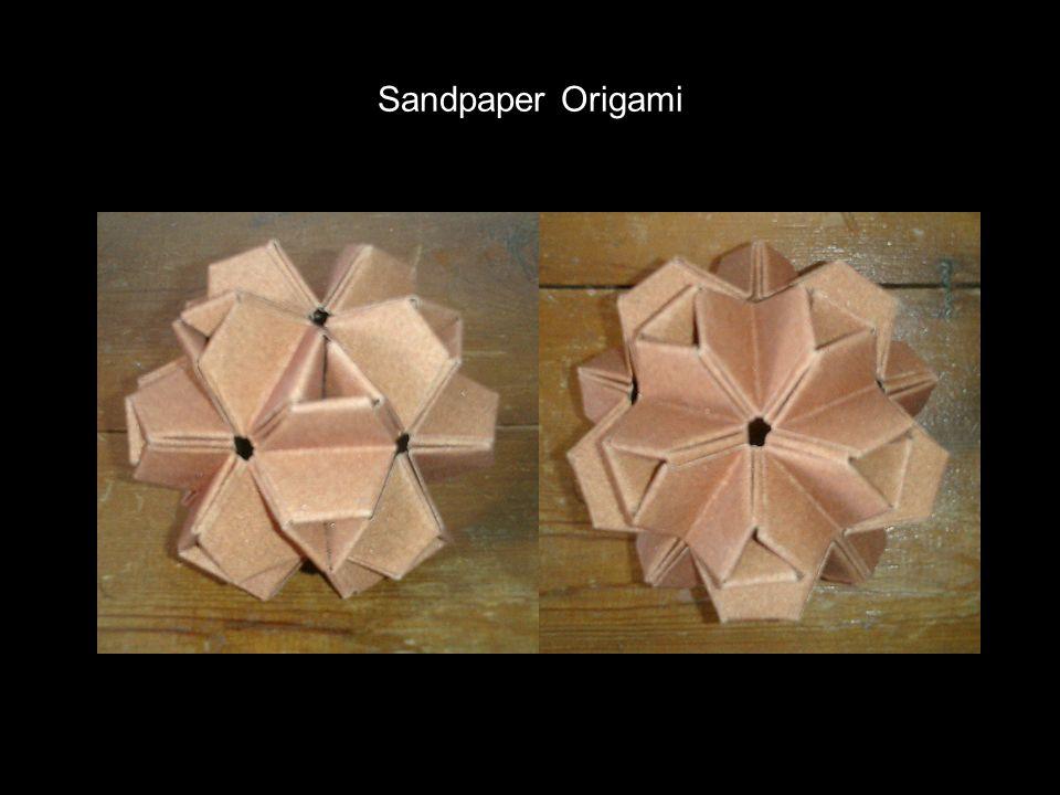 Sandpaper Origami