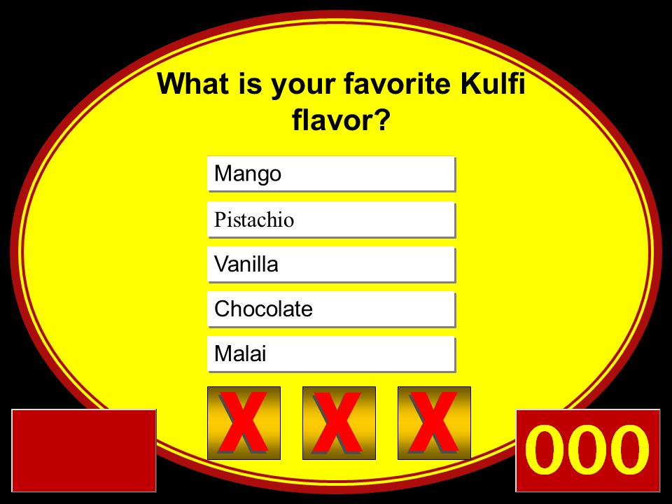 What is your favorite Kulfi flavor