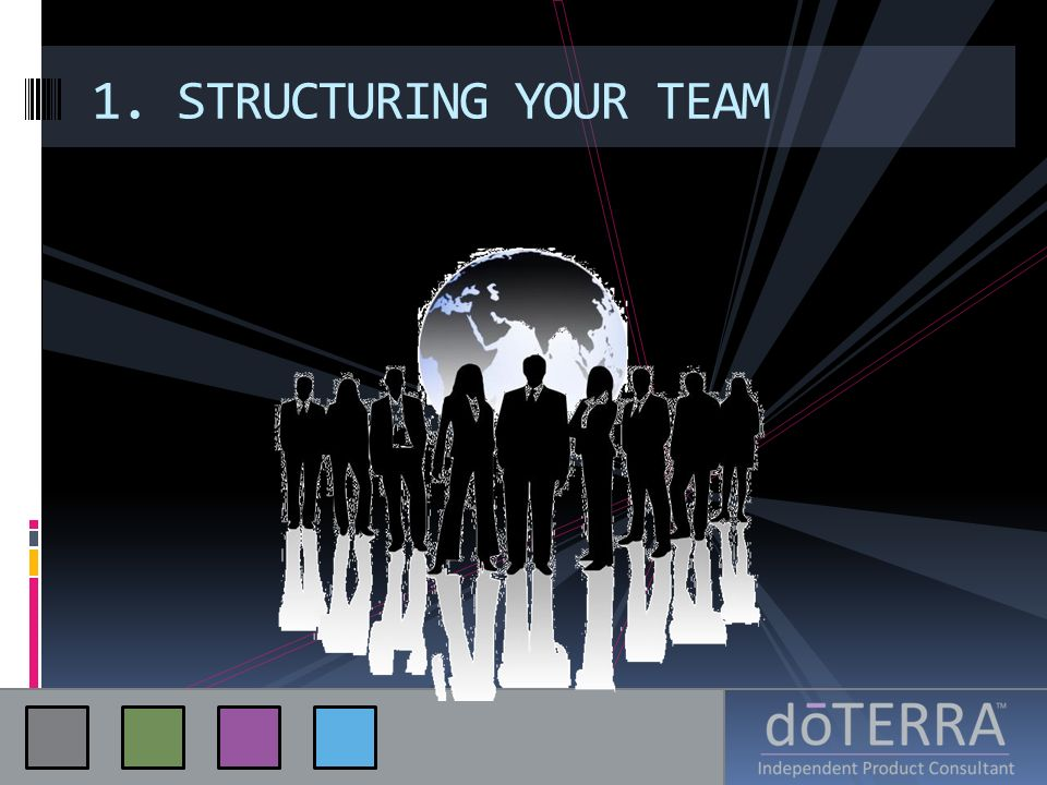 1. STRUCTURING YOUR TEAM