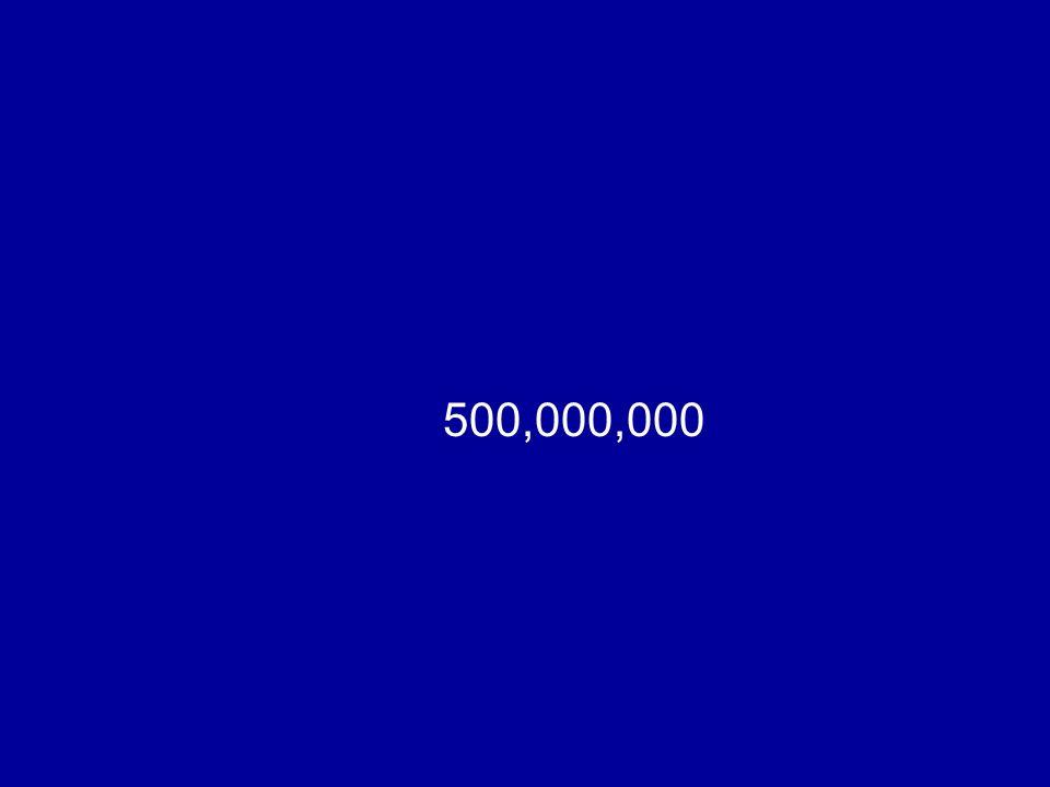500,000,000
