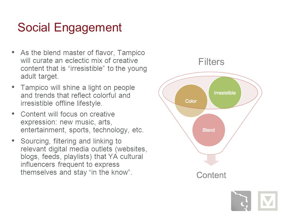 Social Engagement Filters
