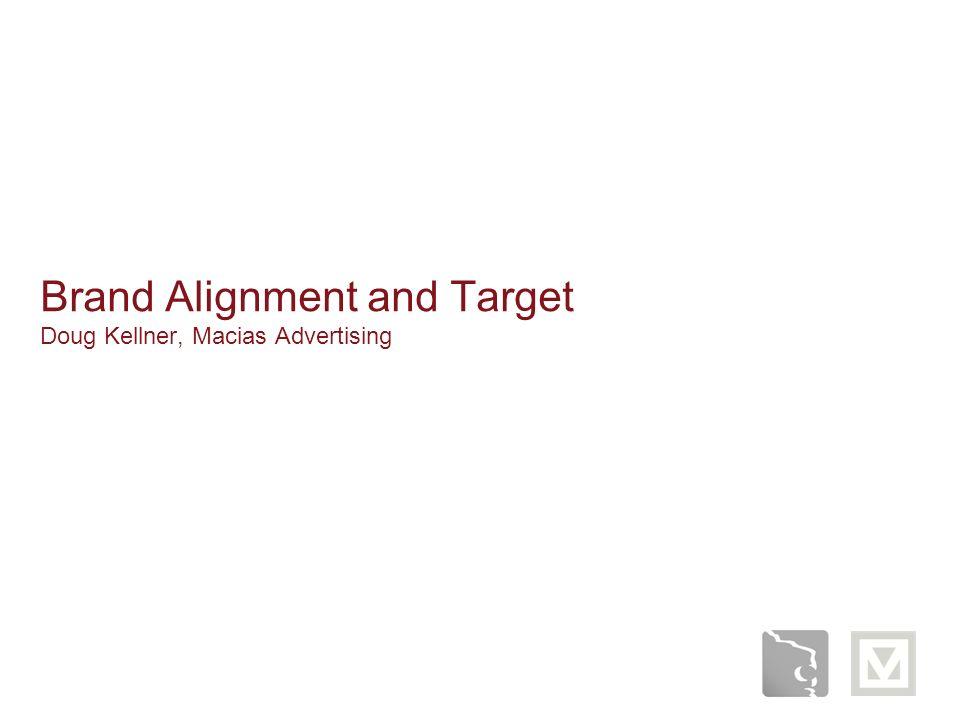 Brand Alignment and Target Doug Kellner, Macias Advertising