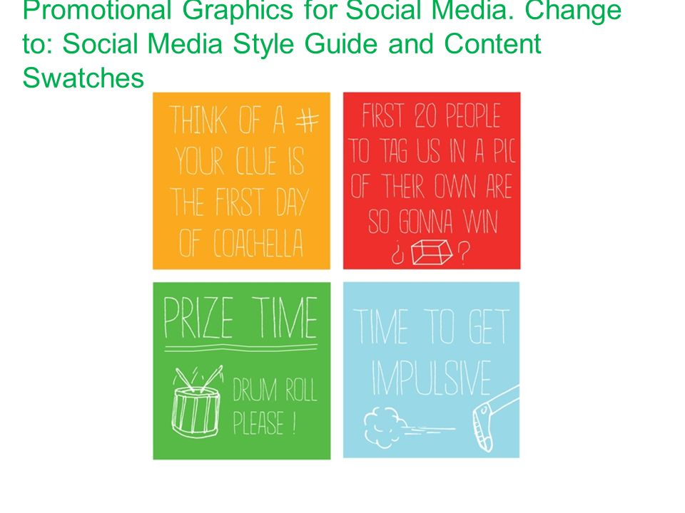 Promotional Graphics for Social Media