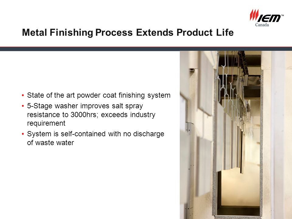 Metal Finishing Process Extends Product Life