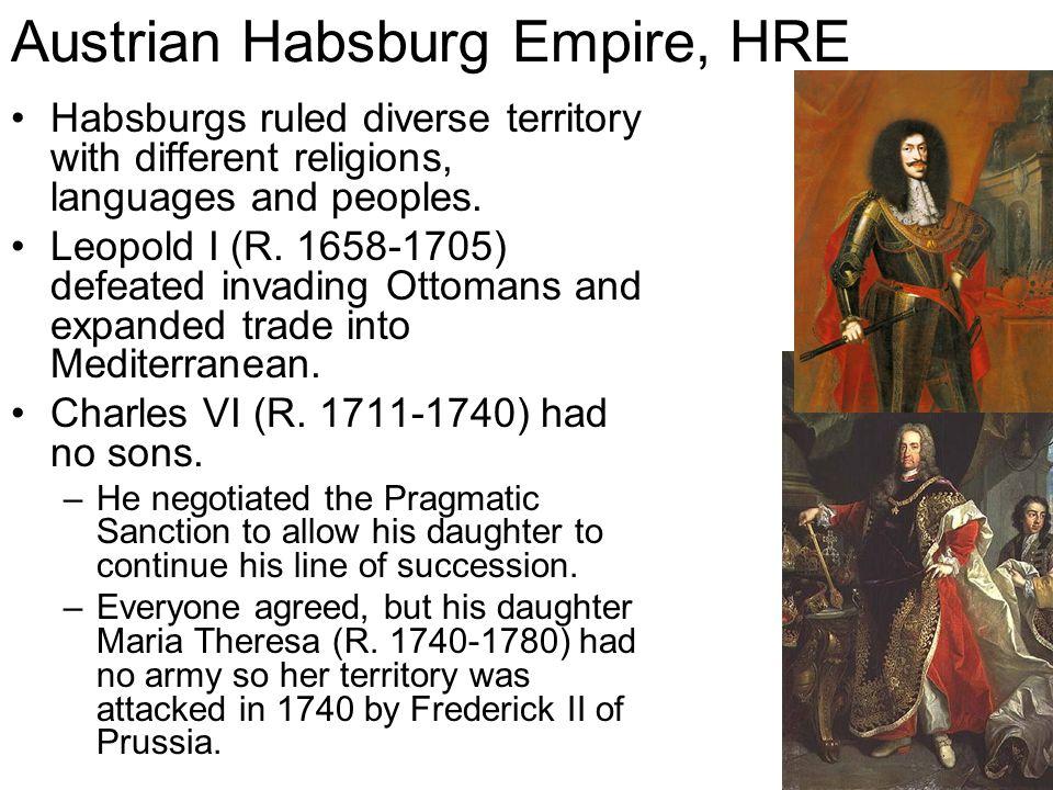 Austrian Habsburg Empire, HRE