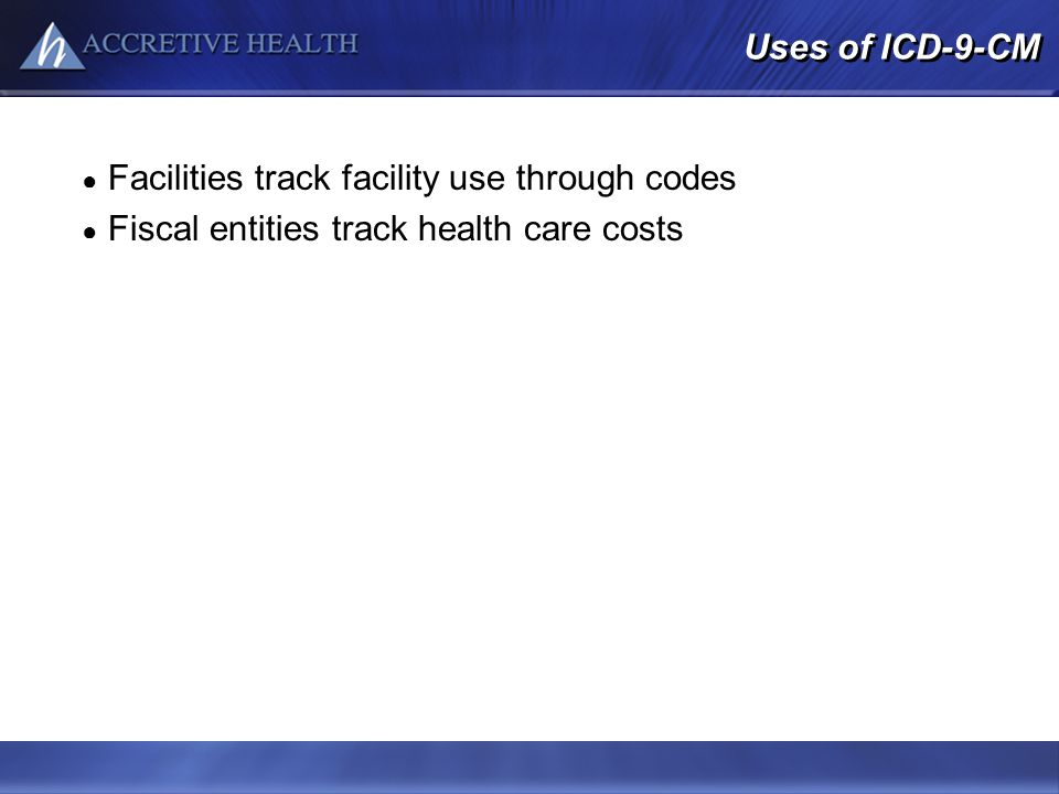 Facilities track facility use through codes