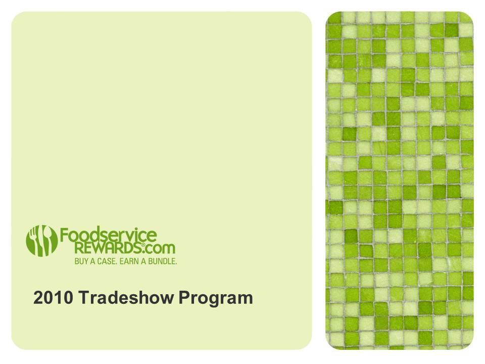 2010 Tradeshow Program