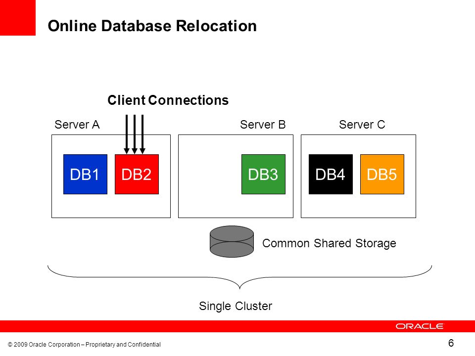 Online Database Relocation
