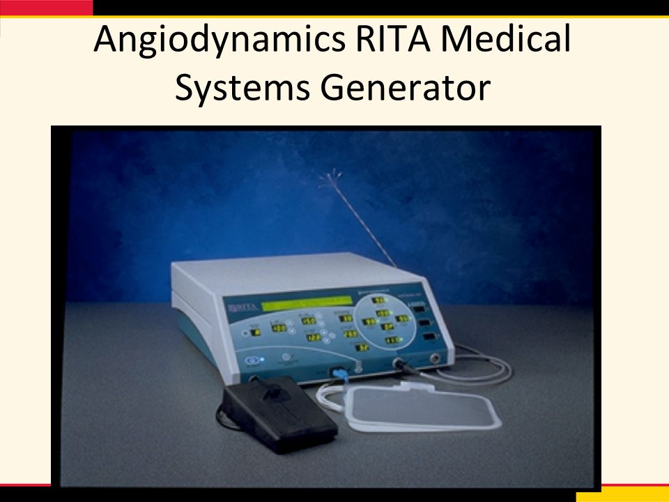 Angiodynamics RITA Medical Systems Generator