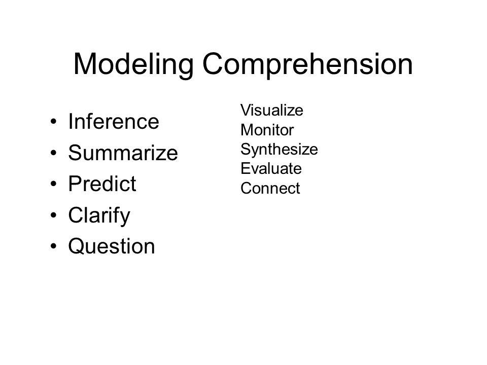 Modeling Comprehension