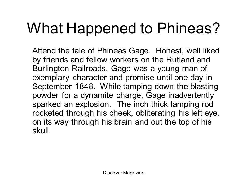 What Happened to Phineas