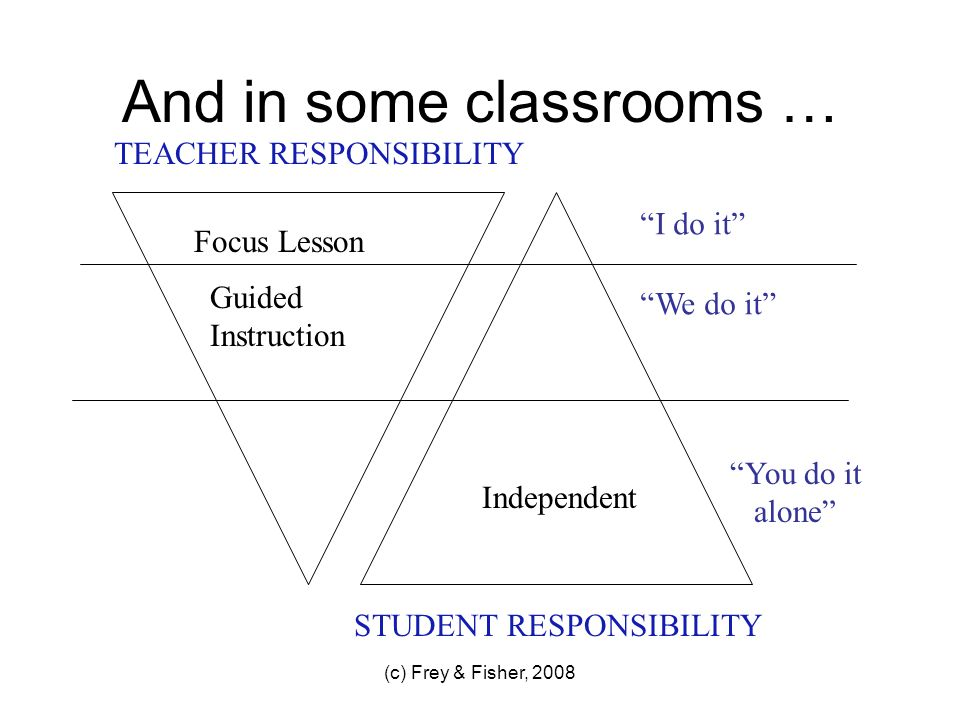 And in some classrooms …