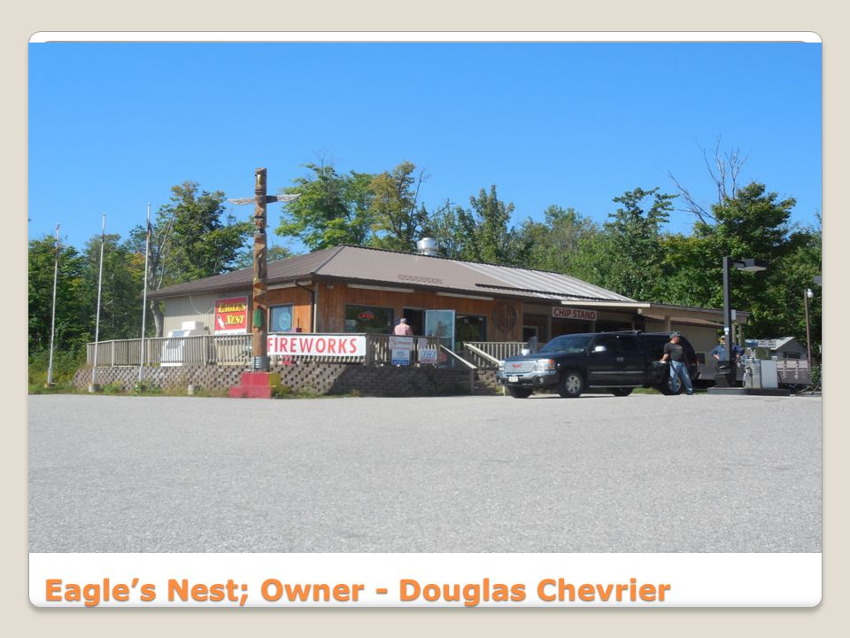 Eagle's Nest; Owner - Douglas Chevrier