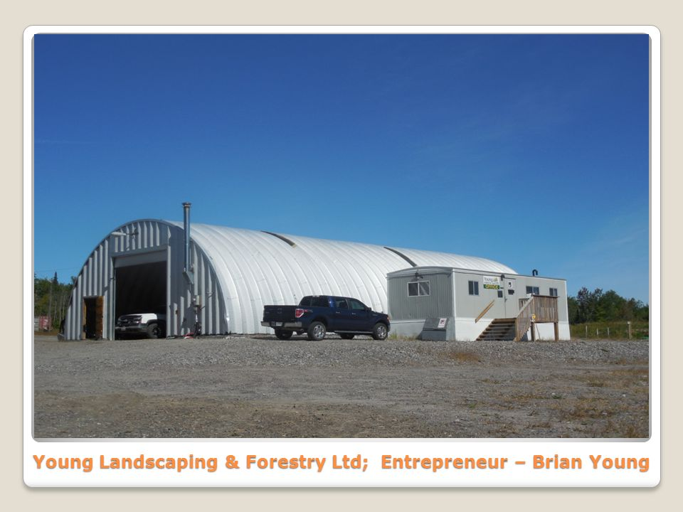 Young Landscaping & Forestry Ltd; Entrepreneur – Brian Young
