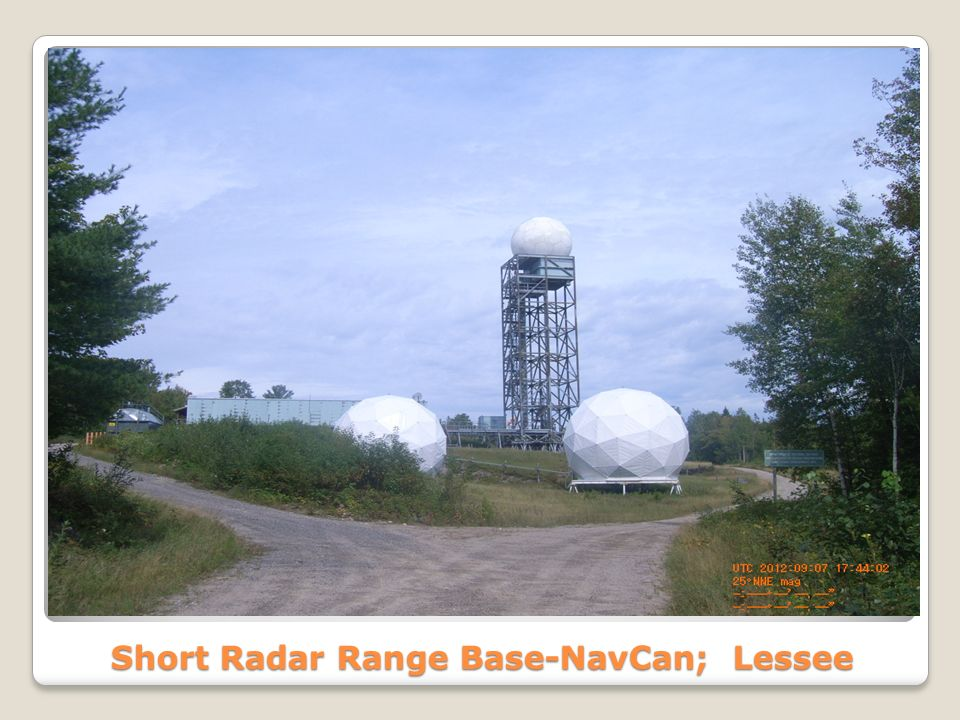 Short Radar Range Base-NavCan; Lessee