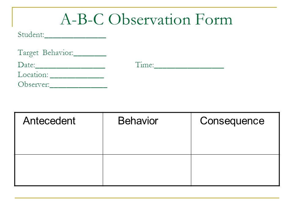 Download observation chart template gantt chart excel for Functional assessment observation form template