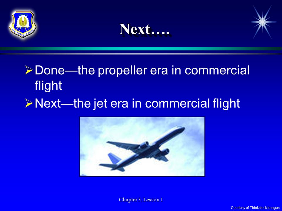 Next…. Done—the propeller era in commercial flight