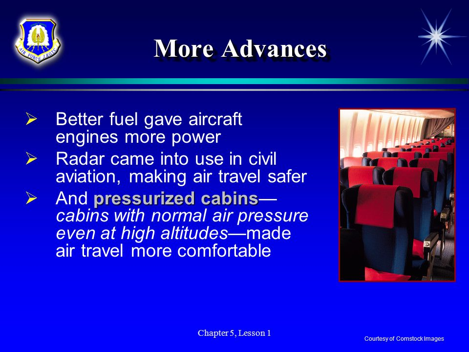 More Advances Better fuel gave aircraft engines more power