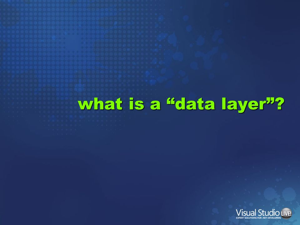 what is a data layer