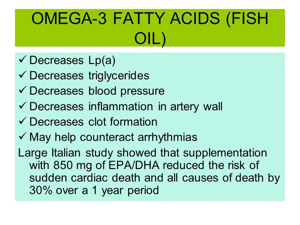 OMEGA-3 FATTY ACIDS (FISH OIL)