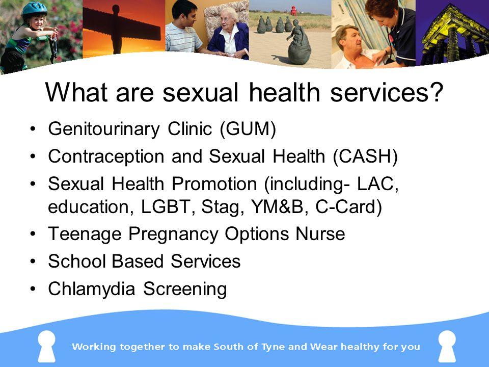 What are sexual health services