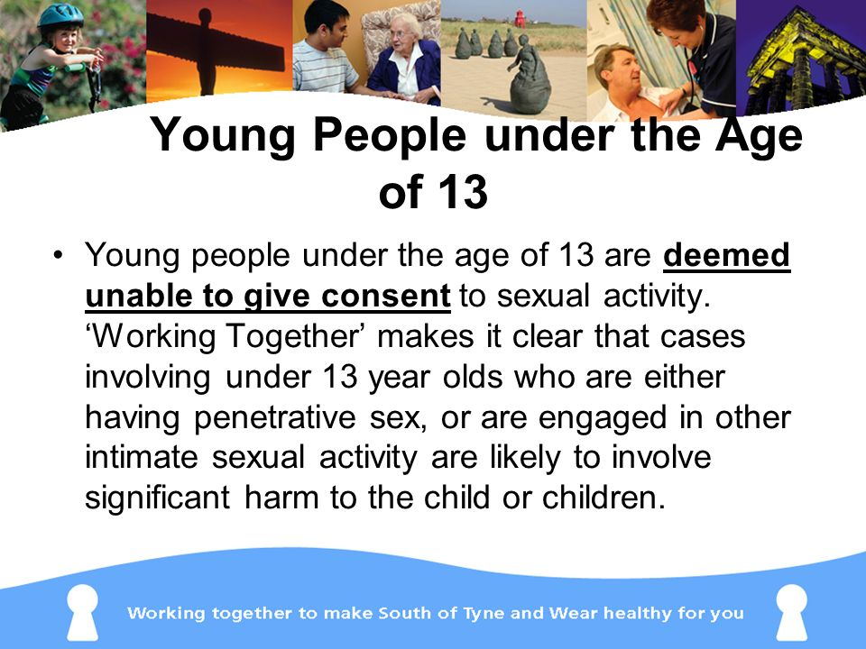 Young People under the Age of 13