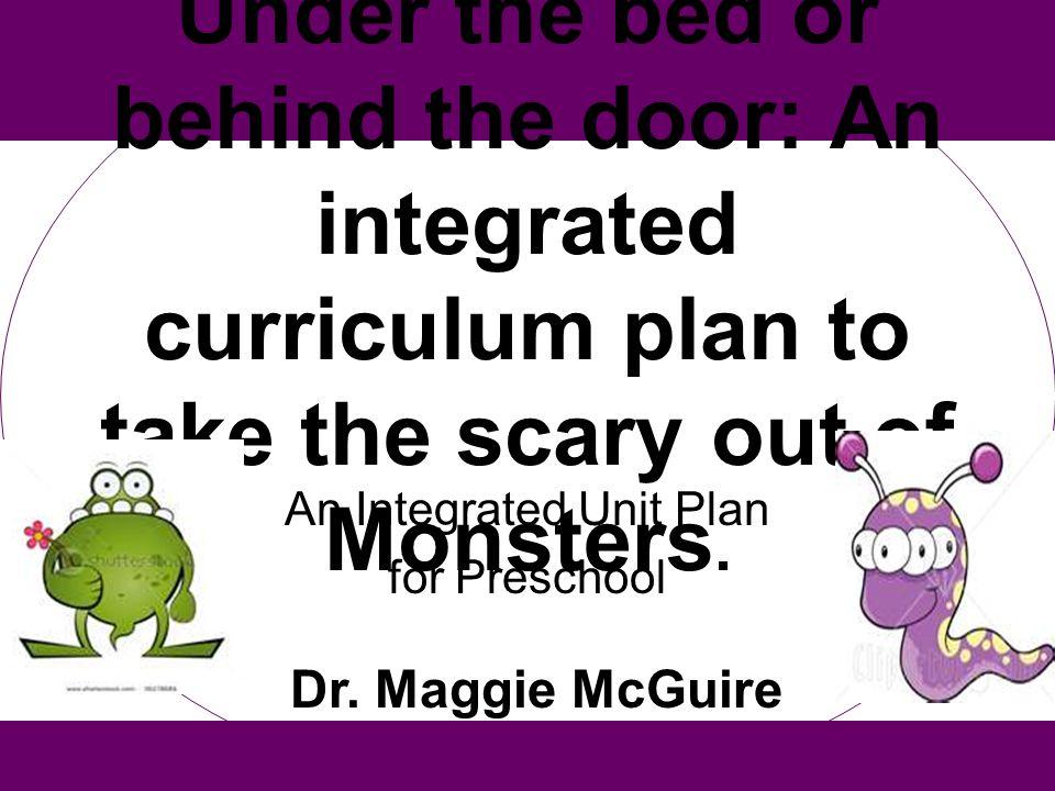 An Integrated Unit Plan for Preschool