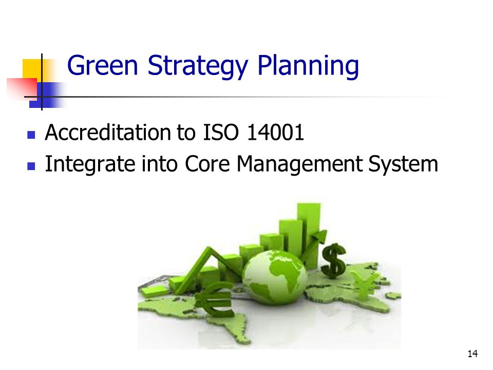 Green Strategy Planning