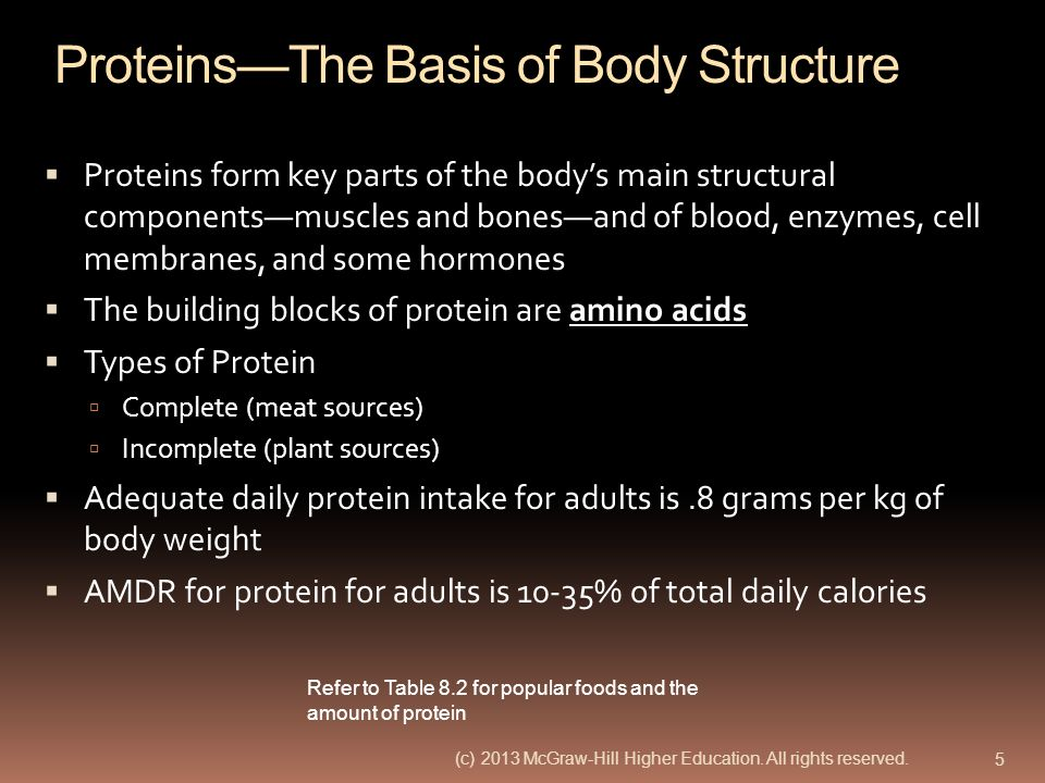 Proteins—The Basis of Body Structure
