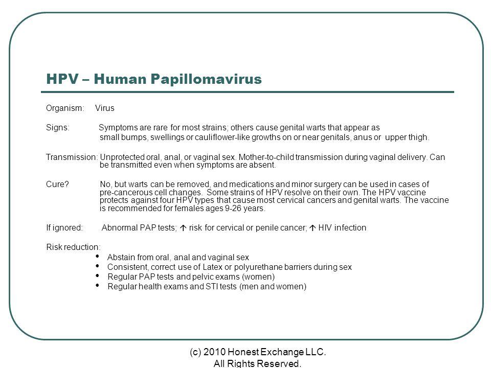 HPV – Human Papillomavirus